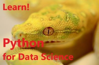 Python for Data Science: The way I started to learn